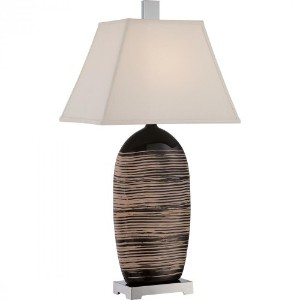 Quoizel CKTL1733T Tribal and Table Lamp by Quoizel