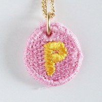 Embroidery Necklace コトダマ P