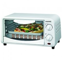 Countertop Toaster Oven, White