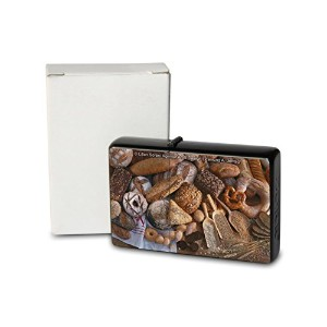 L. S?ren Pocket Vintage Windproof lighter ライター Brushed Oil Refillable bread roll