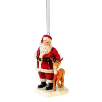 Royal Doulton Santa with Reindeer Ornament by ROYAL DOULTON