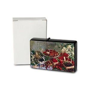 L. S?ren Pocket Vintage Windproof lighter ライター Brushed Oil Refillable strawberries