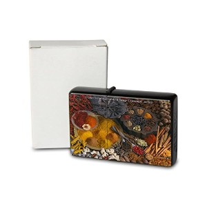 L. S?ren Pocket Vintage Windproof lighter ライター Brushed Oil Refillable spices saffron