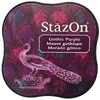 StazOn Midi Ink Pad-Gothic Purple (並行輸入品)