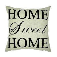 The HOME SWEET HOME Pillow Covers Of ,18 X 18 Inches / 45 By 45 Cm Decoration,gift For Dining Room...
