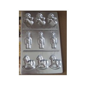 Wilton Angel Soldier Horseクッキー金型パン2306 – 113