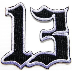 Lucky Number 13 Biker Motorcycles Jacket T-shirt Embroidered Sew Iron on Patch,Size 2.5 inch x 2.25...