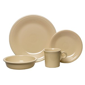 Fiesta 4-Piece Place Setting, Ivory by Unknown