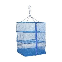3 Tray Hanging Drying Net, Food Dehydrator - Natural Way to Dry Food as Fruits, Vegetables and more...