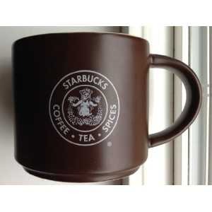 The First Starbucks Store Pike Place Mug, Brown, 14 oz