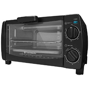Toastmaster TM-101TR 4-Slice Toaster Oven, 10-Litre, Black by Toastmaster