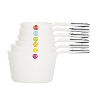 OXO Good Grips 7ピースMeasuring Cup Set with奇数サイズ1.5カップ