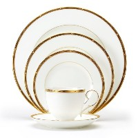 Noritake Rochelle Gold 5-Piece Place Setting by Noritake [並行輸入品]