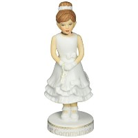 Growing up Girls from Enesco First Communion Figurine 7 IN [並行輸入品]