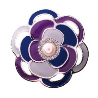 PiELY MODERN CAMELLIA SILVER-BLUEMIX
