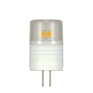 Satco S9220 T3 Replacement LED 3000K G4 Base Light Bulb, 2.3W by Satco