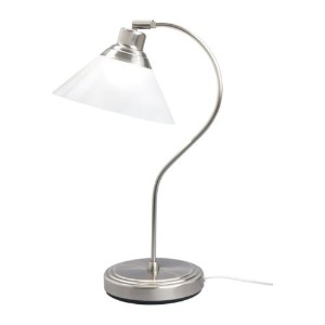 Ikea 801.962.44 Kroby Work Lamp with Glass, Nickel Plated by Ikea