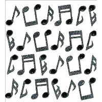 Jolee's Mini Repeats Stickers-Music Notes (並行輸入品)