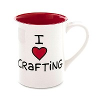 I Heart Crafting Mug - Our Name Is Mud by Lorrie Veasey by Our Name is Mud