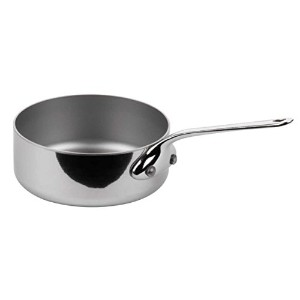 Mauviel - Collection m'minis - 9 cm saute pan stainless steel