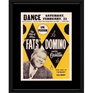 Fats Domino - The Star Of Stars Framed Mini Poster - 48x38cm