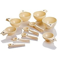 Debbie Meyer Magnetic Measuring Cups & Spoons - Ivory by Debbie Meyer