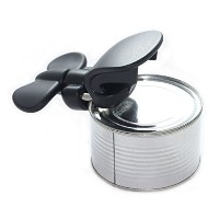 Bartelliソフトエッジ3- in - 1Ambidextrous安全Can Opener Jar Opener and Bottle Opener