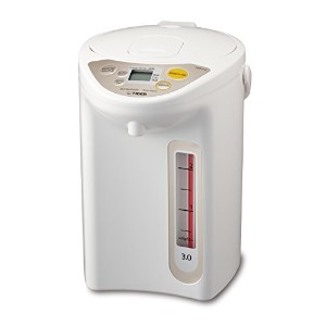 Tiger PDR-A30U WU Micom Electric Water Boiler & Warmer, 3 L, White by Tiger Corporation