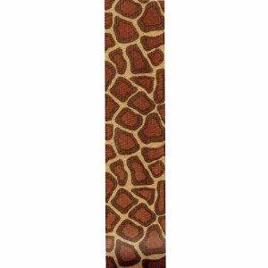 Offray Giraffe Craft Ribbon, 1 1/2-Inch x 9-Feet, Brown( Discontinued by Manufacturer ) by Offray