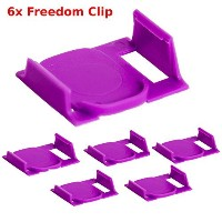 6X Freedom Clever Clips Brew Any K-Cup In your 2.0 Keurig Works in all 2.0 Models By Freedom Brew ...