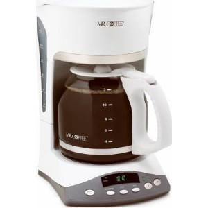 Mr. Coffee Programmable Coffeemaker Auto Shut-Off, Pause 'N Serve 12 Cup White W [並行輸入品]