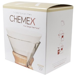 Chemex Bonded Coffee Filter Circles, 200 Count by Chemex