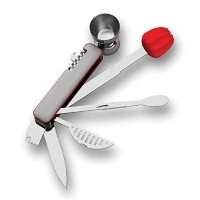 Bar10der Ten-in-One Ultimate Bartending Tool (Red) by Quench Products, Inc. [並行輸入品]