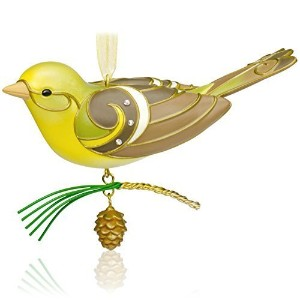 qxe3759Lady Western Tanger The Beauty of Birds 2015Special Edition RepaintホールマークOrnament by...