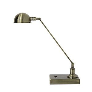Adesso 1606962 Brass Architect Desk Lamp, 5W Led by Adesso