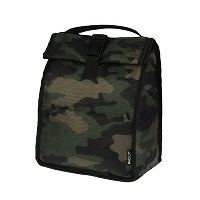 PackIt Freezable Rolltop Lunch Bag, Camo by PackIt