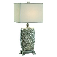 Crestview Collection Shelby Table Lamp, Red by Crestview Collection