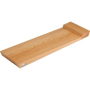 Artelegno Solid Beech Wood Double-Sided Serving Tray and Cutting Board, Luxurious Italian Firenze...