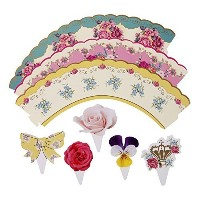 Talking Tables Truly Scrumptious Cakewrap and Toppers, Multicolor by Talking Tables [並行輸入品]