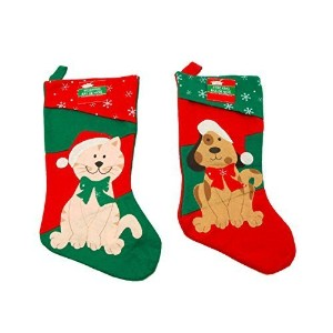 Christmas Pet Stocking For Your Dog or Cat (Dog) by Greenbrier [並行輸入品]