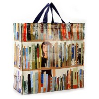 Blue Q Large Reusable Shopping Tote, n Book Bag by Blue Q