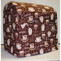 Coffee Kitchenaid Tilt Head Stand Mixer Cover (All Brown Coffee) by Penny's Needful Things