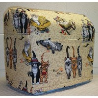 Beach Cats Kitchenaid Tilt Head Stand Mixer Cover (All Beach Cats) by Penny's Needful Things