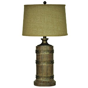 Crestview Collection Plankroad Resin Table Lamp by Crestview Collection