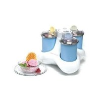 Euro Pro KP300H Triple-Scoop Ice-Cream Maker [並行輸入品]