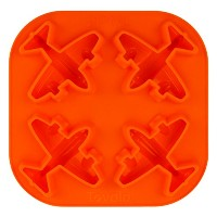 Tovolo Airplane Ice Tray, Orange by Tovolo