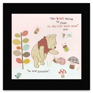 WINNIE THE POOH AND FRIENDS - Print 2 Matted Mini Poster - 29.7x29.2cm