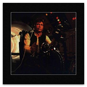 STAR WARS - Hano Solo In Millennium Falcon Gun Port Mini Poster - 29.2x30cm