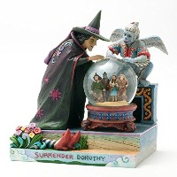 Enesco Jim Shore The Wizard of Oz Waterball Figurine, 8.5-Inch [並行輸入品]