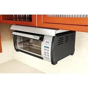 Energy efficient, Touch-button Control Panel Stainless and Spacemaker Toaster Oven, Black and...